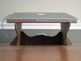 طريقة نع طاولة لاب توب في البيت 2021 , طاولة اللاب توب بالكرتون المقوى 2021 laptop_stand-9-150x1
